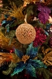 Whimsical ornaments in jewel colours will add sparkle to your tree. Priced from $4.00 in the Home & Garden Department.